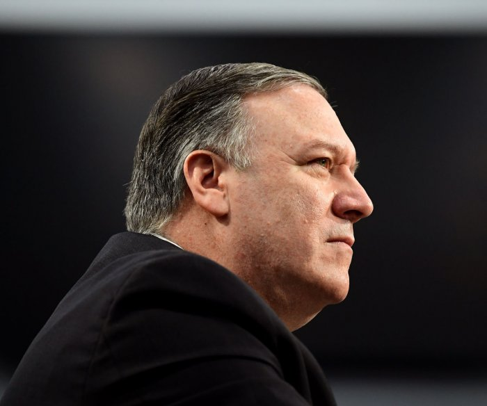 Pompeo: 'Of course' military option on table to deal with Iran