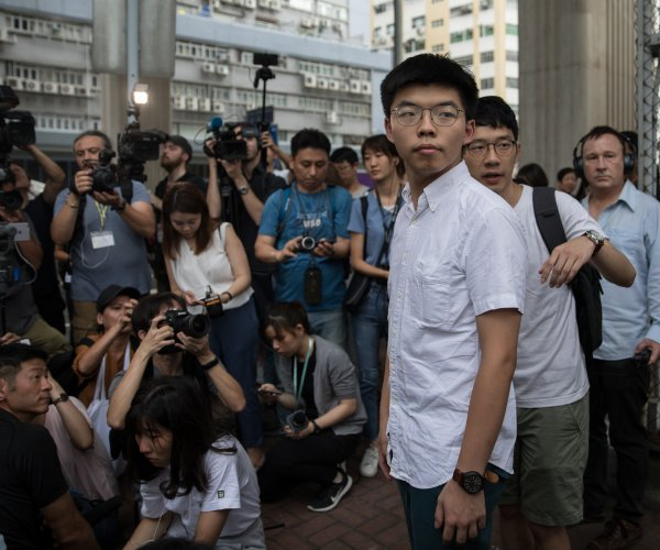 Pro-democracy activist Joshua Wong released from Hong Kong prison