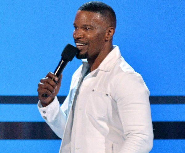 Jamie Foxx, DJ Khaled attend the BET Awards