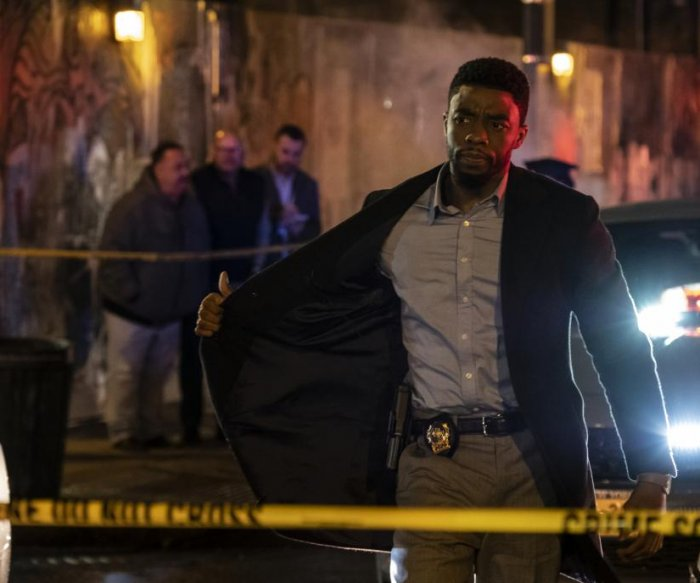 Chadwick Boseman revels in grit of '21 Bridges' cop drama