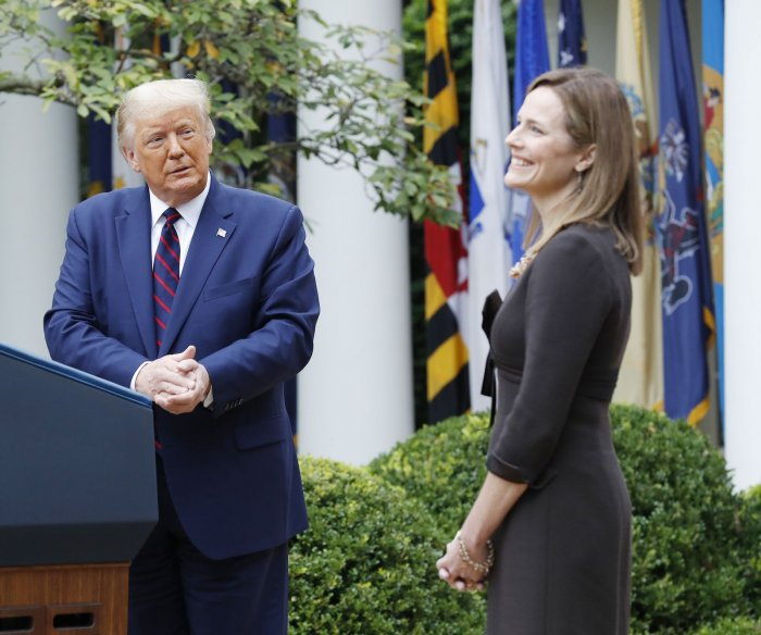 Trump nominates conservative Amy Coney Barrett to replace RBG