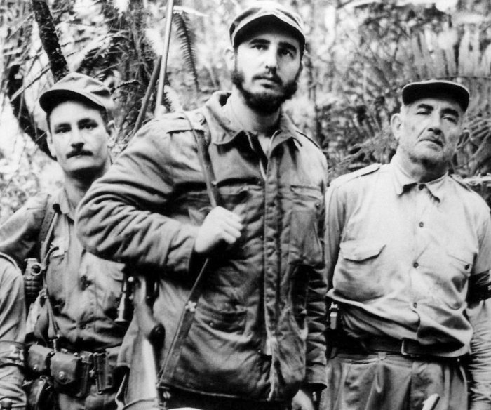 Fidel Castro over the years