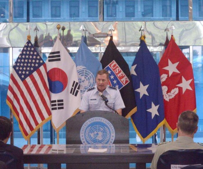 USFK commander: Kim Jong Un's goal is to break regional unity