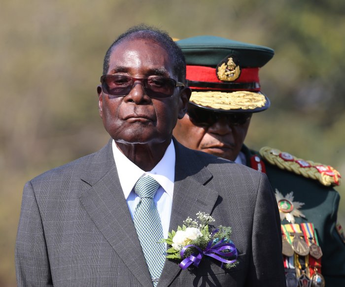 'Hero' Robert Mugabe granted immunity in Zimbabwe