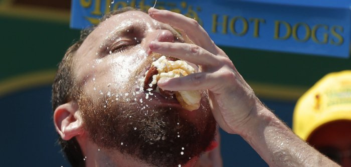 100th annual Nathan's Hot Dog Eating Contest