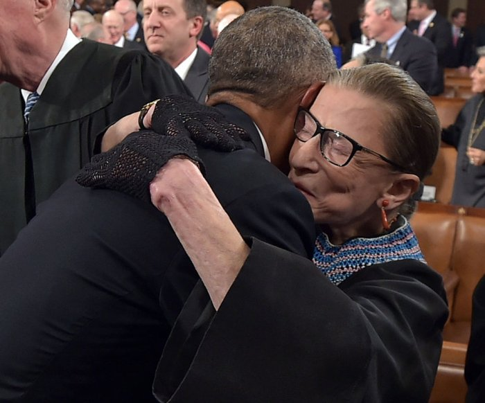 Obama's most memorable hugs