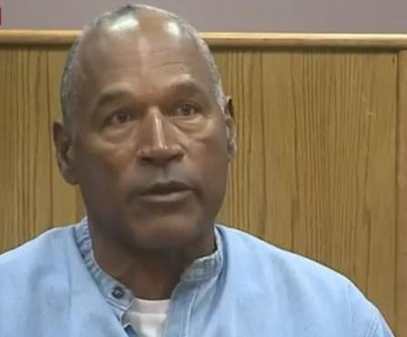 O.J. granted parole after 9 years of robbery sentence