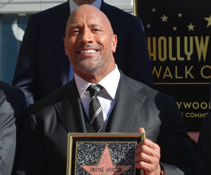 Dwayne Johnson gets star on Hollywood Walk of Fame