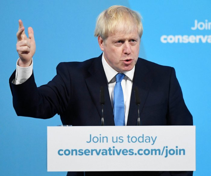 Boris Johnson elected British prime minister, Tory Party leader