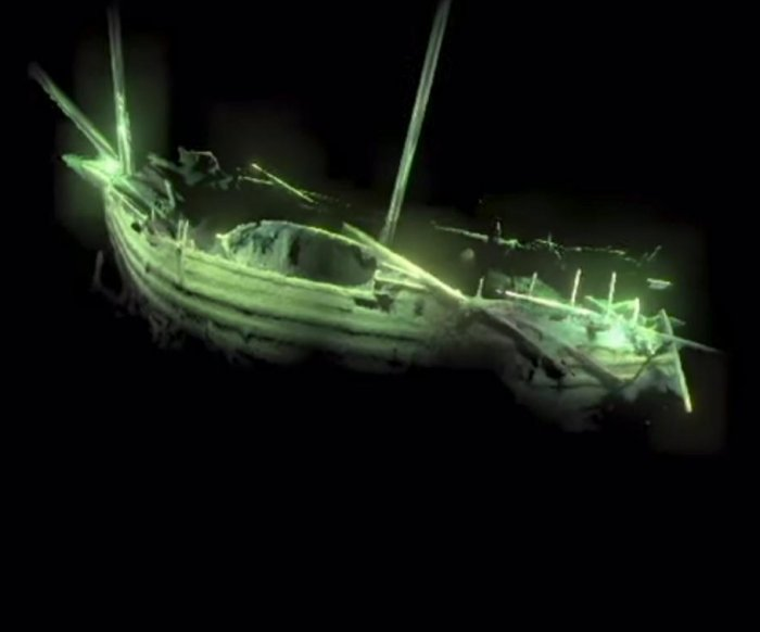Renaissance-era ship found mostly intact at bottom of Baltic Sea