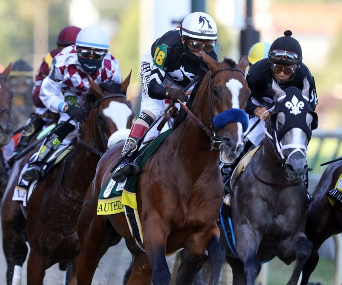 Authentic wins Kentucky Derby in race without spectators