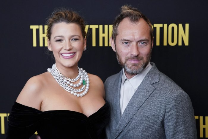 Blake Lively, Jude Law attend 'The Rhythm Section' screening in NYC