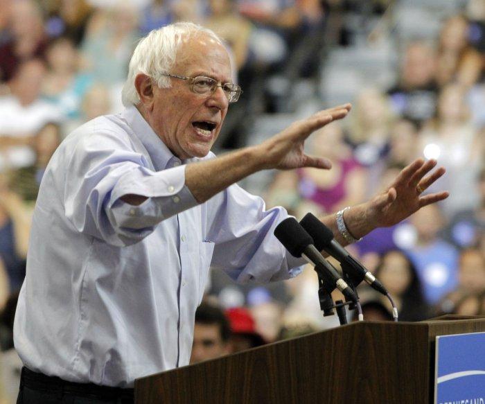 Bernie Sanders visits Louisiana