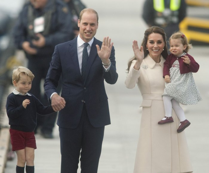 It's a boy: Kate Middleton gives birth to third child