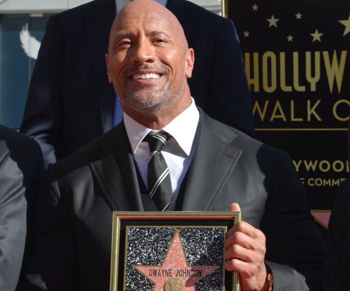 Dwayne Johnson gets star on Hollywood Walk of Fame