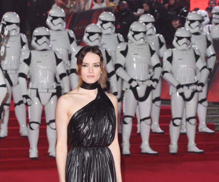 Cast members promote 'Star Wars: The Last Jedi' in London