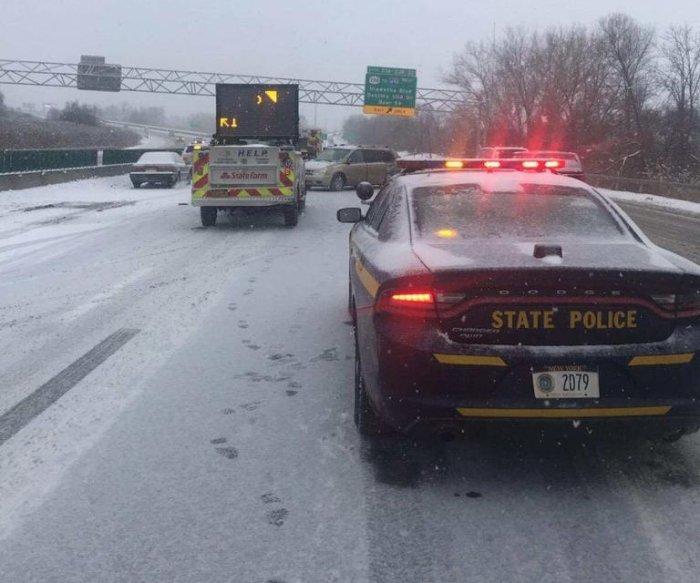 Snowstorm brings frigid weather, travel delays to Northeast