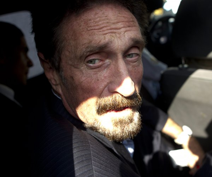 Antivirus creator John McAfee found dead in Spanish prison cell