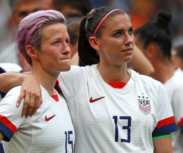 Tokyo 2020: Alex Morgan, Megan Rapinoe make U.S. soccer roster