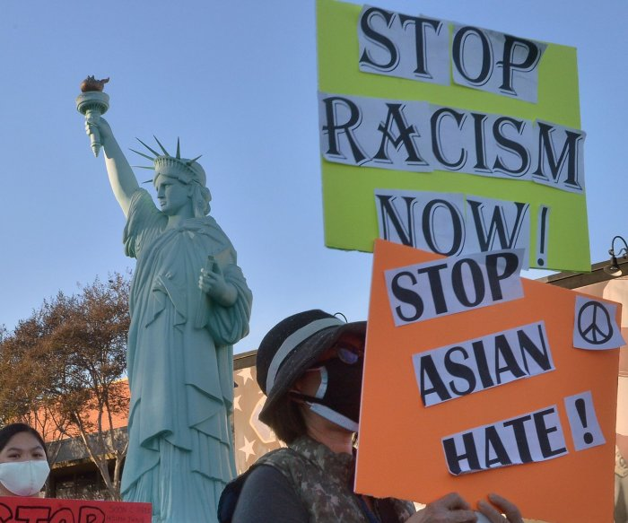 House sends anti-Asian hate crime bill to Biden's desk for signature