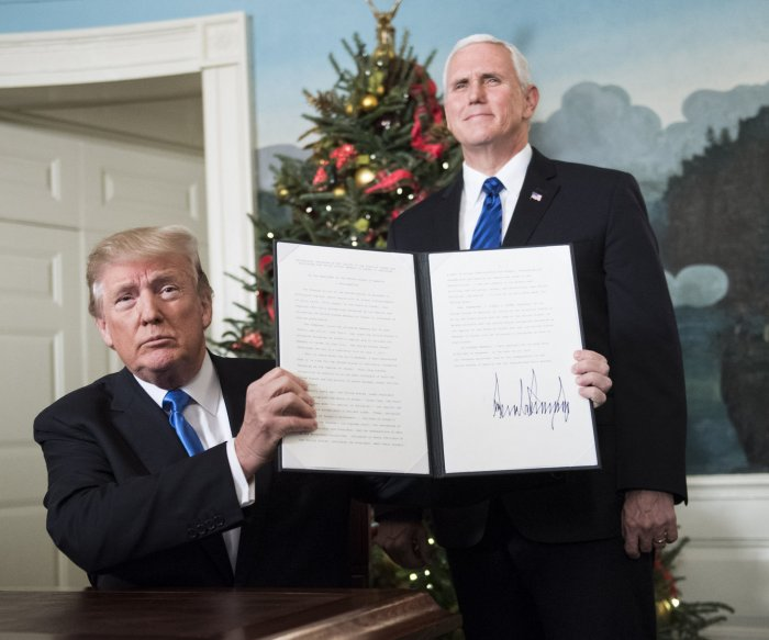 Evangelicals see Trump's Jerusalem move as key to 'end-times'