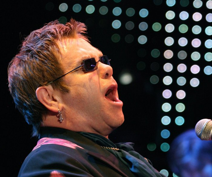 Moments from Elton John's career