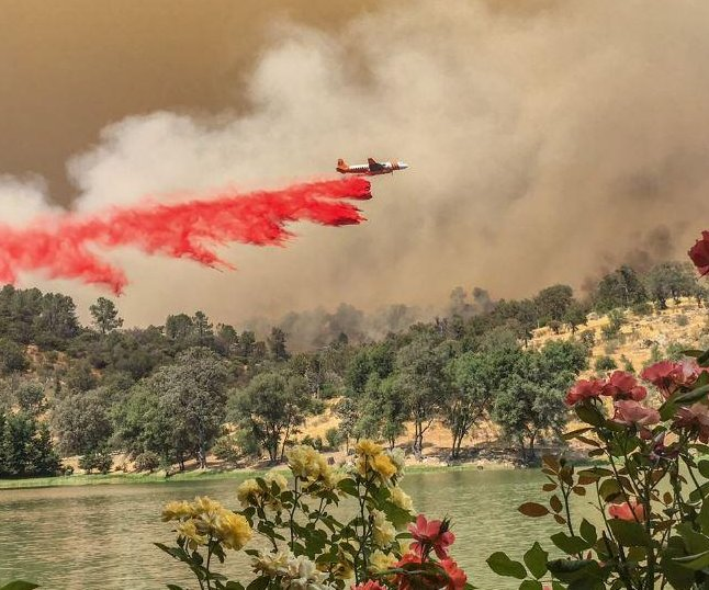 Thousands of firefighters battle Calif. blaze, now at 48K acres