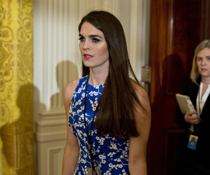 House subpoenas Hope Hicks, Annie Donaldson in obstruction probe