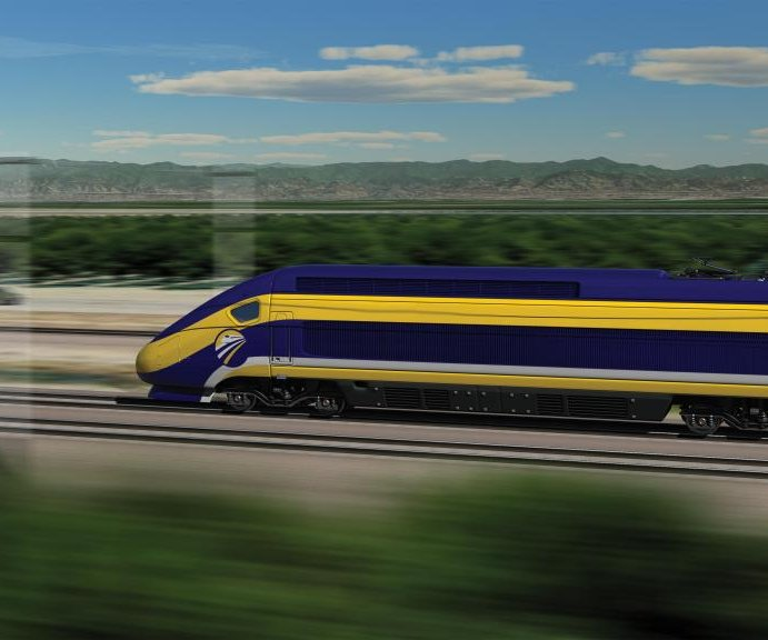 California sues Trump administration to return high-speed rail funding