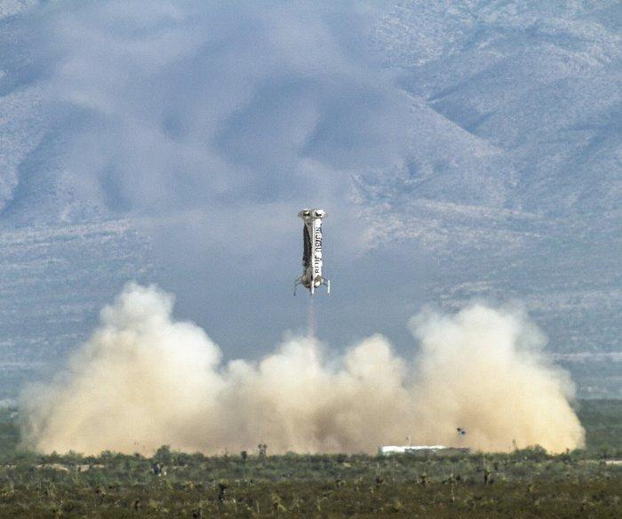 Blue Origin attempts New Shepard rocket launch again in Texas