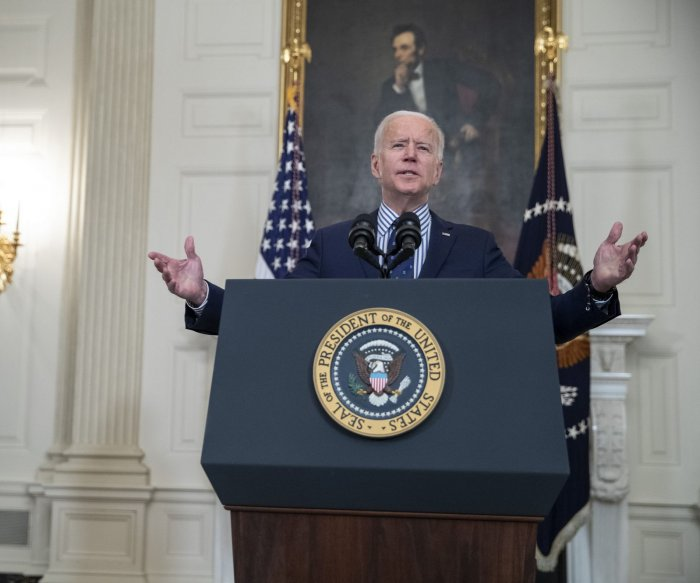 Biden: Passing $1.9 trillion COVID-19 relief bill 'giant step forward'