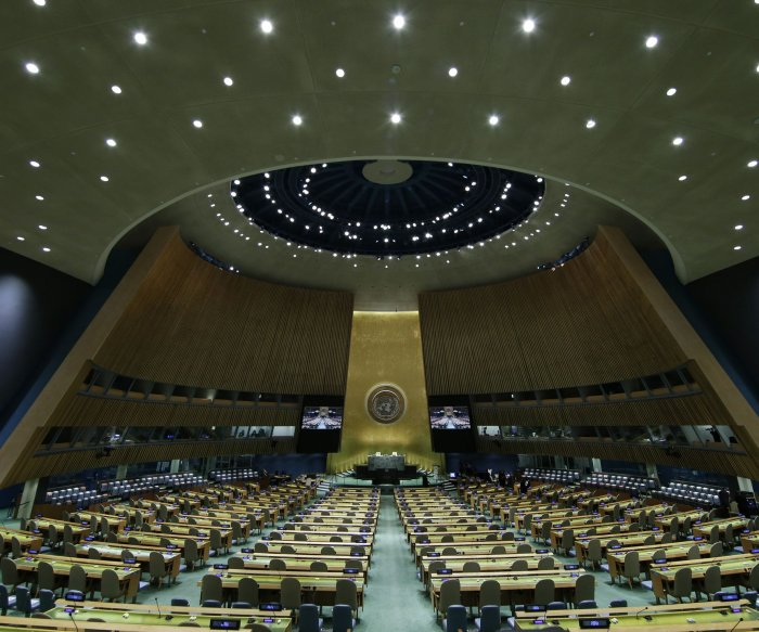 Biden set to deliver 1st address at 76th U.N. General Assembly in NYC