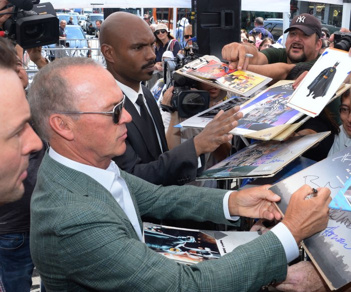 Michael Keaton gets a star on the Hollywood Walk of Fame