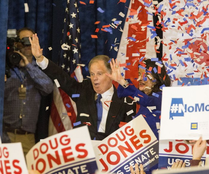 Democrat Jones beats Roy Moore in key Alabama Senate race