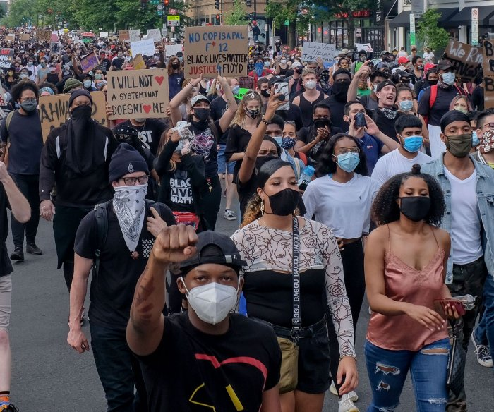Local leaders call for end to destruction in nationwide protests