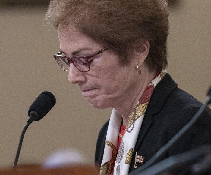 Ex-diplomat Marie Yovanovitch 'shocked' at Trump's Ukraine call