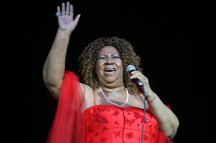 Queen of Soul Aretha Franklin through the years
