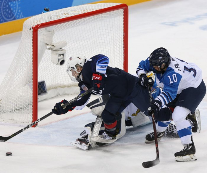 2018 Winter Olympics: Moments from hockey