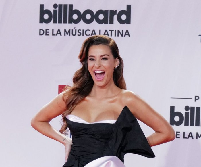 Moments from the Billboard Latin Music Awards red carpet