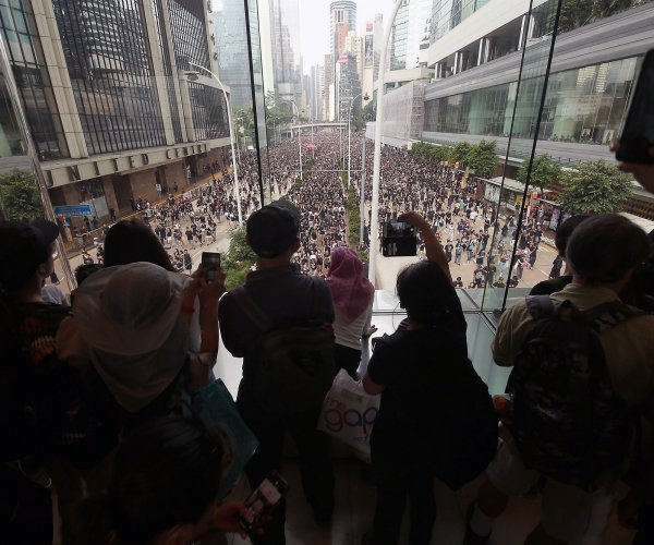 2M at Hong Kong protest want leader out despite extradition apology