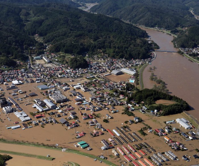 Dozens killed as Typhoon Hagibis makes landfall in Japan