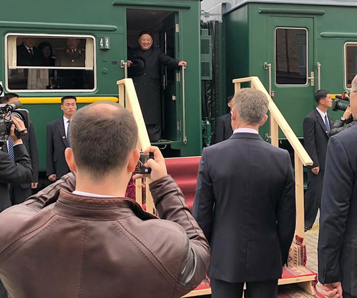 North Korean leader Kim heads to Vladivostok for summit with Putin