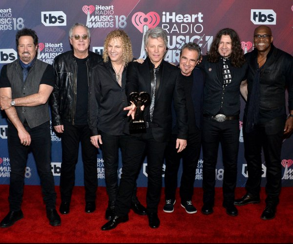 Bon Jovi, Khalid win top honors at the iHeartRadio Music Awards