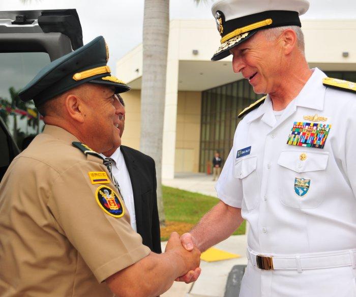 U.S. Navy: Venezuela military, 'save your people'