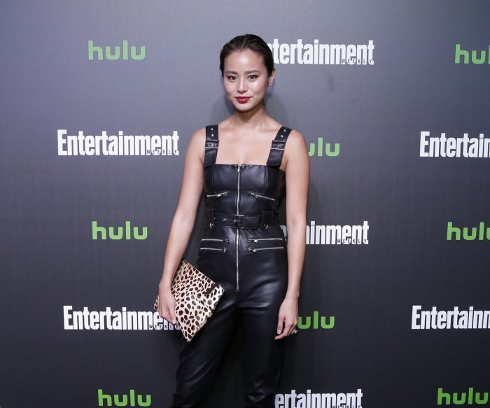 On the red carpet at Hulu's Comic Con after party