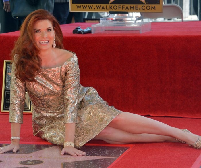 Debra Messing honored with a star on the Hollywood Walk of Fame