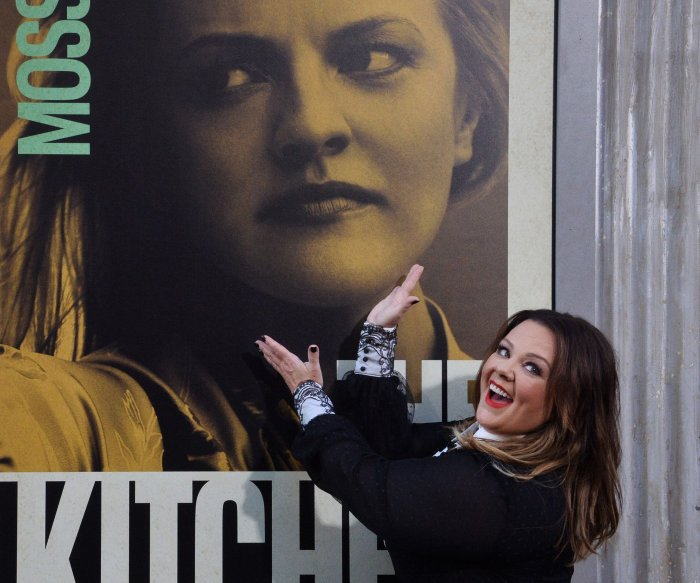 Melissa McCarthy, Elisabeth Moss attend 'The Kitchen' premiere