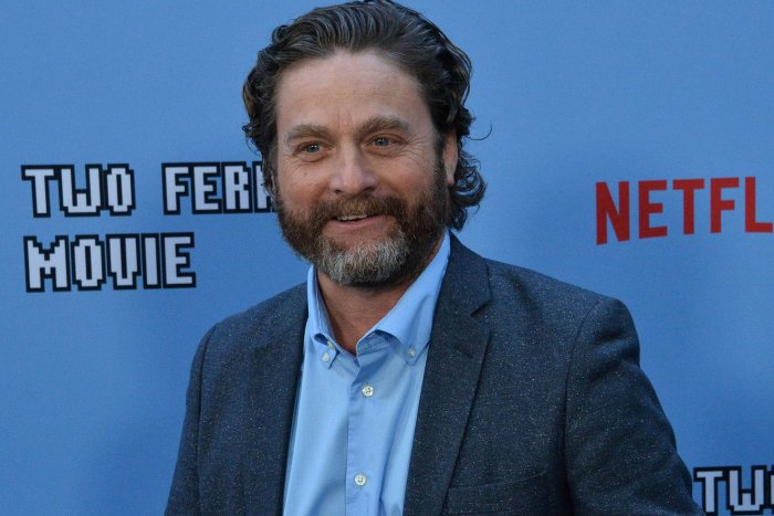 Zach Galifianakis attends 'Between Two Ferns' premiere in LA