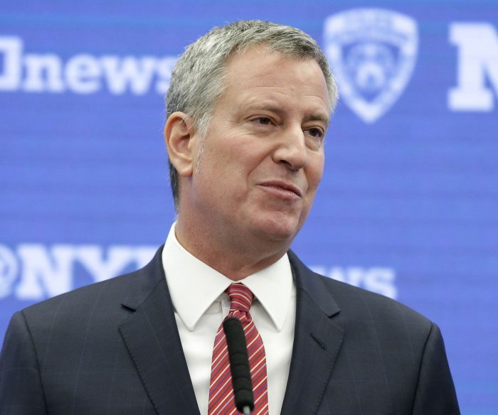 NYC mayor questioned in campaign corruption allegations