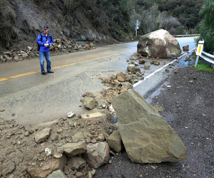State of emergency declared in California after weeks of rain